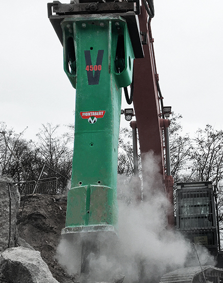 Medium to Heavy Hydraulic Rock Breakers