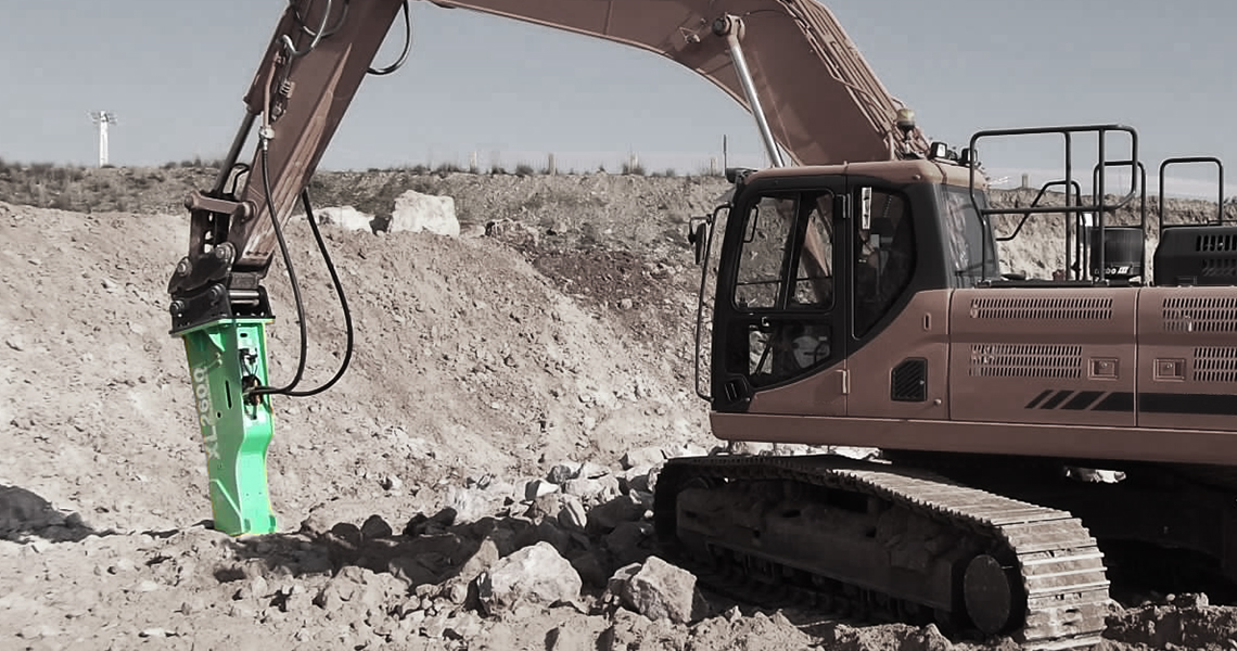 Montabert South Africa > Products > XL Hydraulic Rock Breakers